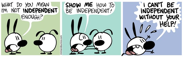 Mimi and Eunice – Becoming Independent – http://mimiandeunice.com